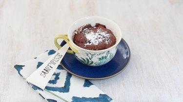 chocolate molten lava mug cake
