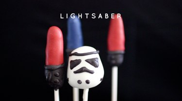 Lightsaber Cake Pops