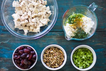 Waldorf Salad Ingredients