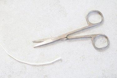 Cut cotton cord