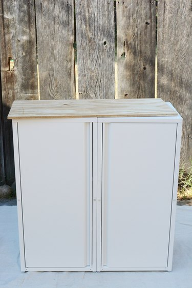 assemble cabinets