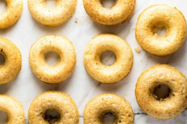 Apple cider donuts.