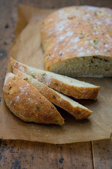 Italian herbed bread.