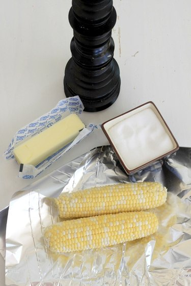 basic ingredients for baked corn on the cob