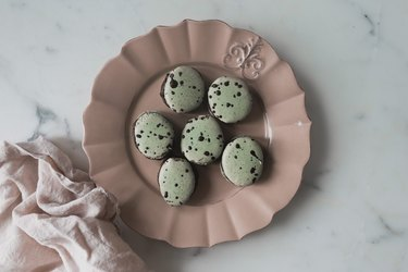 These macarons make for a fun and delicious Easter treat!