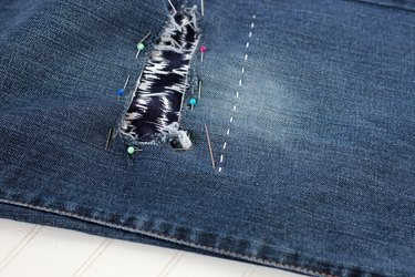 change directions of stitches