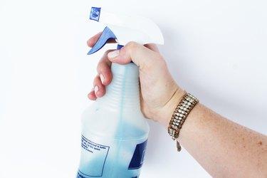 dye in spray bottles