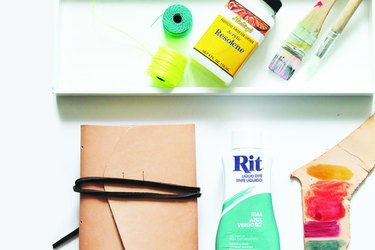 Leather Dyeing Supplies