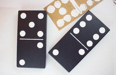 Painted dominoes