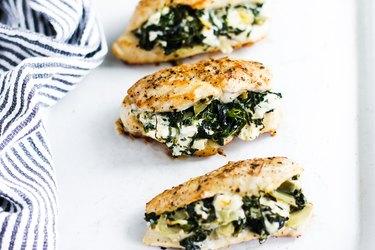 Spinach and Artichoke Stuffed Chicken Recipe