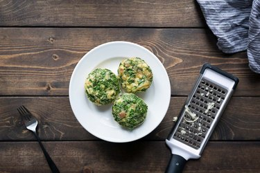 Cheesy Baked Eggs in a Muffin Tin | eHow
