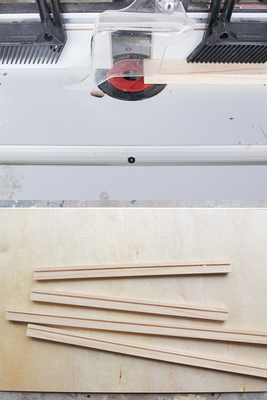 Routed boards