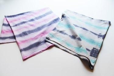 dyed dish cloths