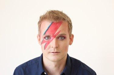 Complete Ziggy Stardust look