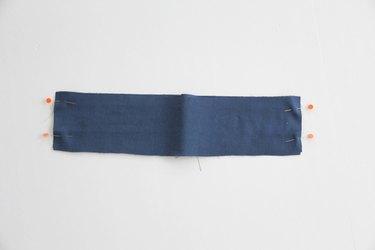 sew waistband together
