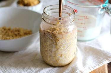Enjoy your oatmeal right out of the fridge.