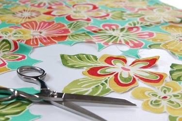 cut floral pattern