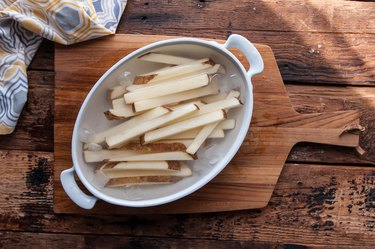 Crispy Oven-Baked French Fries Recipe