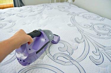 Vacuum mattress deodorizer