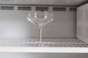 How to Chill a Cocktail Glass