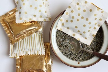 sachets with lavender