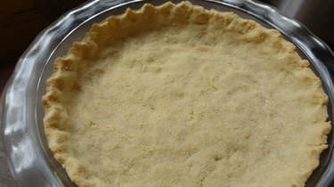Almond flour no-roll gluten-free low-carb pie crust