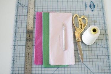 Materials for Tissue Paper Flower Lei