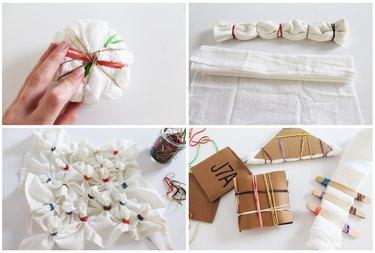 different tie dyeing methods