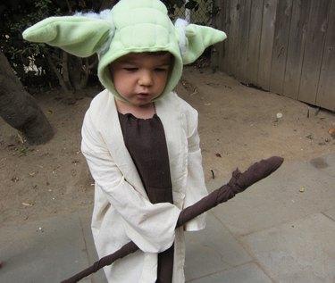 A Pensive Yoda