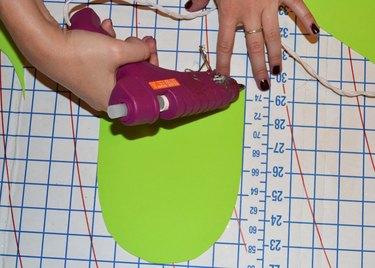 Step 1- Line Edges With Glue