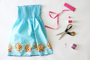 materials needed to make a sundress
