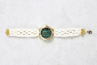 DIY macrame watch strap