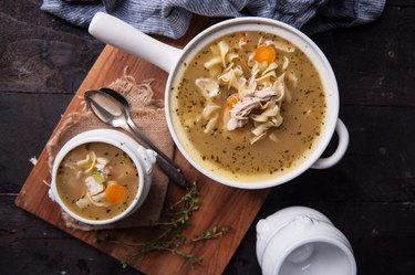 Turkey soup.