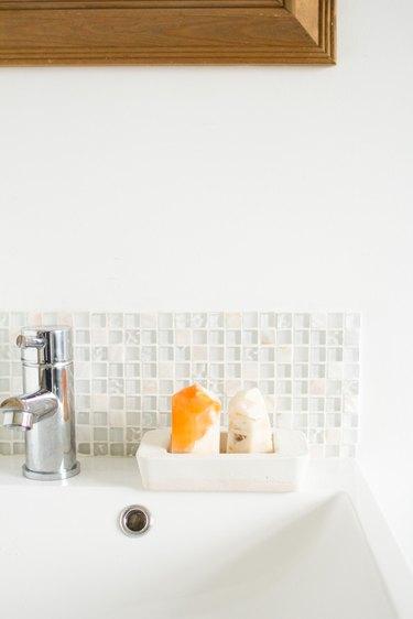 Two Tone Concrete Soap Dish