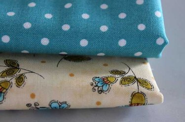 Two coordinating fabrics