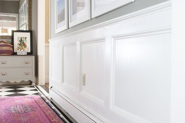 Paint the wainscoting