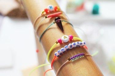 Make Easy String Bracelets