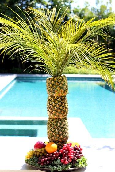 pineapple palm tree