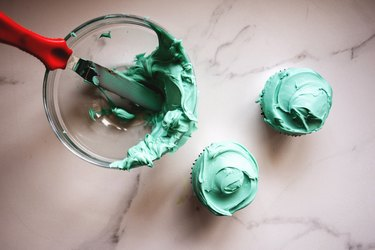 Learn How to Make a vibrant shade of Turquoise food coloring for all your baking and craft needs.