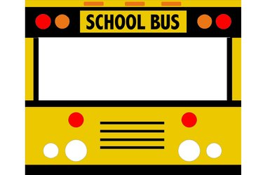 Illustration of the front of the bus.