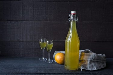 Homemade Orange Liqueur