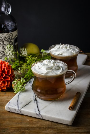 How to Make Classic Hot Buttered Rum