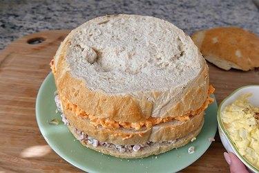 third bread layer