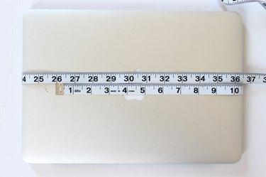 measure laptop width