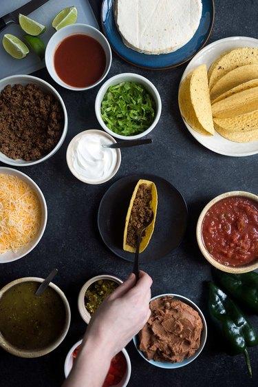 Taco Bar Party Tutorial | eHow