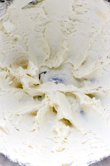 Make cream cheese frosting.