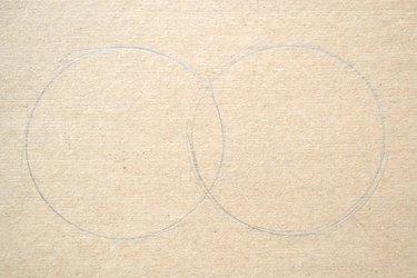 The overlapped circles should look like a Venn diagram.