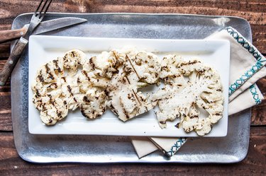 How to Grill Cauliflower