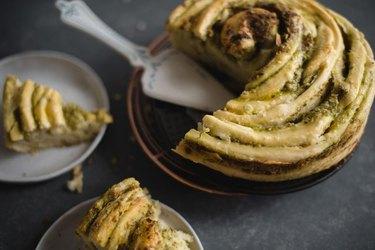 Cheesy Herb Swirl Bread