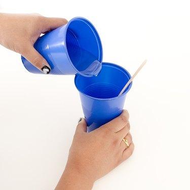 Pour mixture